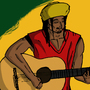 Playing Guitar by Helmi-Bardaa