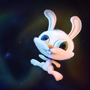 Bunny in space HD by jack2712