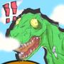 Tyrannosaurus Steps by SkylightSpica