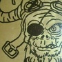 Zombie Viking areopirate of Apocalypse by GhoulHellbilly