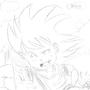 Kid Goku ^_^ by TaylorToons