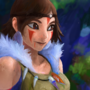 Princess mononoke by anthony-p