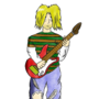 Kurt Cobain by EddieNiga