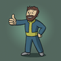 Vault Boy (Beard Edition) by AidanParr