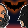 Batman & Bane for animation by Glenorsven