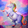 Rainbow Unicorn! by frozen-scumbag