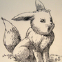 #133_Eevee by Manguinha