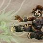 wow - pandaren monk by KattyC