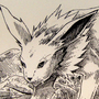 #135_Jolteon by Manguinha