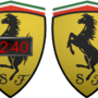 Ferrari Clock by HyundaiClock