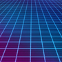 Neon Grid by AudioLion