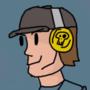 Team Fortress BLU Scout by Rebellium