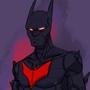 Batman beyond sketch by Jetly