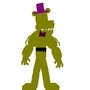 FNAF 4|Nightmare Fredbear pivot model by brofang