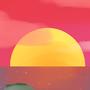 A sunset by Marklikeart