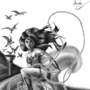 New 52 Wonder Woman 118 Cover grey by eMokid64