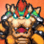 Bowser Out of Perler Beads (Partners in Time) by Glugglor