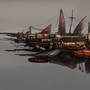 Steampunk airship by Kiabugboy