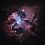 Atlantis Nexus Nebula by Starkiteckt