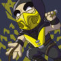 Scorpion (Mortal Kombat) by EmuToons