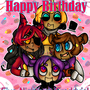 FNAFs First Birthday by Pozuu