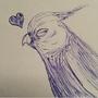 My Sleepy Bird- Cuddles by CrazyBirdLady63
