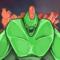 Green Alien Monster!