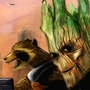 GROOT AND ROCKET!! by deafguitarist063