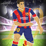 lionel messi by Infinnex-B