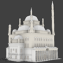 Mosque model by DoloresC