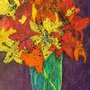 Flowers in a Scratched Jar by EDylan