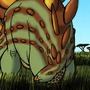 Simply a Stegosaurus by BrandonP