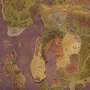 Fantasy Map of Noreii by ExCharny