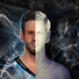 3D Leo Messi Double Face by OmarMadaeinArt