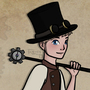 Steampunk PKMN Trainer by FallenMorning