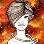 Space Elves - Orange Girl by FallenMorning