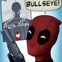 Deadpool 22nd Bday Card by FallenMorning