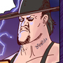 SUMMERSLAM BROCK LESNAR VS. THE UNDERTAKER by Manguinha