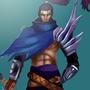 Yasuo- from league of legends by ZekZekoun