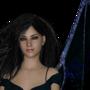 The Shadow Dragoness, Daeris by FirstDarkAngel2001