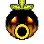 Deku Mask Pixel Art
