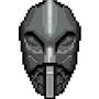 Giants Mask Pixel Art