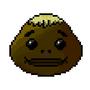 Goron Mask Pixel Art