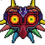 Majoras Mask Pixel Art by morganstedmanmsNG