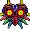 Majoras Mask Pixel Art
