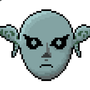 Zora Mask Pixel Art by morganstedmanmsNG