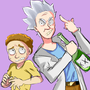 Rick and Morty by Bbycheese