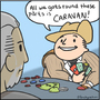 001 - Geralt Discovers Caravan by Buckycarbon