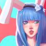 bunnygirl aoi by mattmattymattymatt