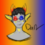 Sollux (aka im trash) by ghostjaxi